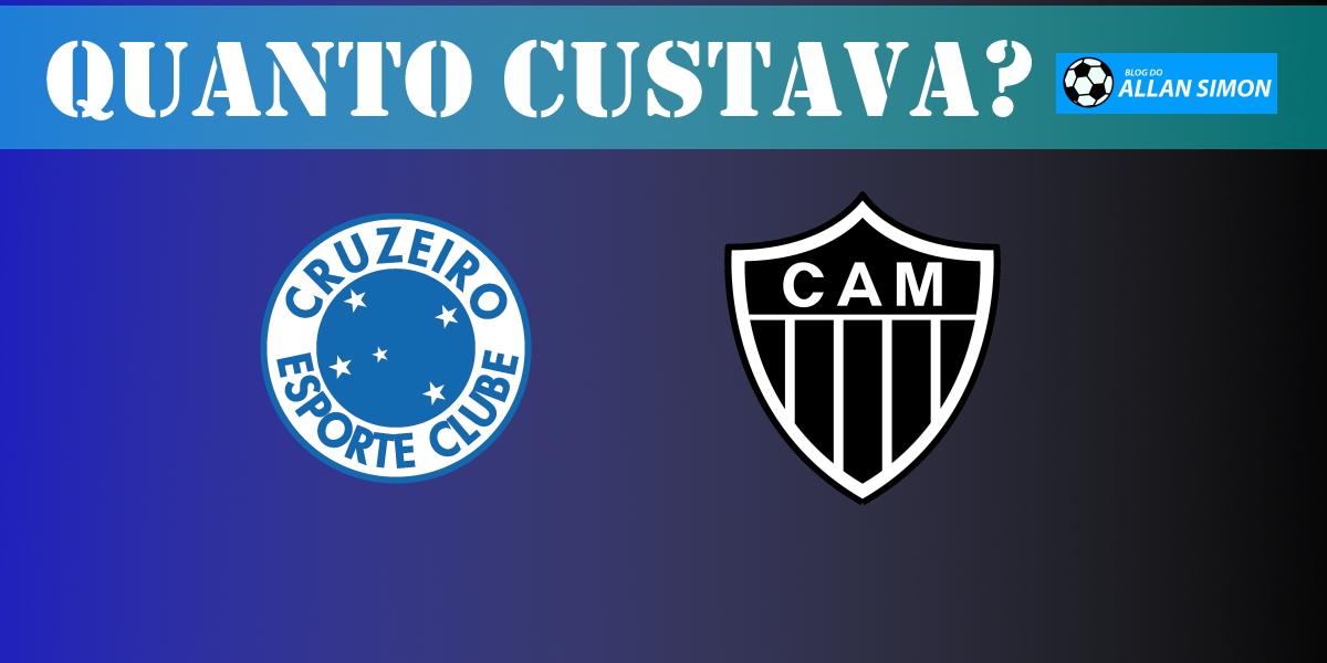Viaje no tempo e confira quanto custava comprar as camisas de Atlético e Cruzeiro há mais de 30 anos