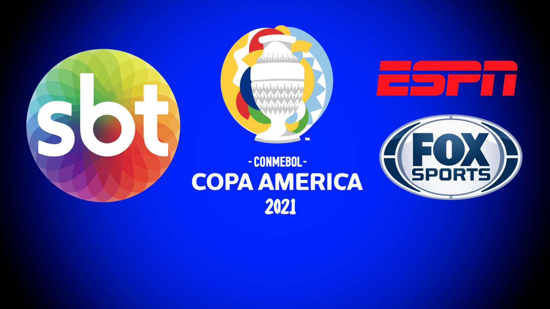 Copa América foi transmitida pelo SBT, ESPN e Fox Sports