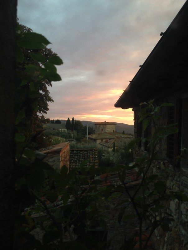 VILLA LE BARONE AT SUNSET