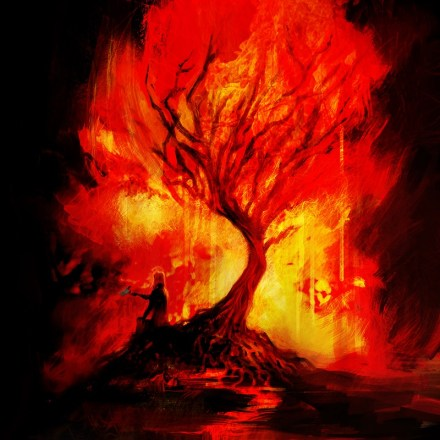 Everything Burns (Digital Painting, 2011)