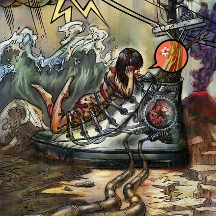 'The World We Live In' illustration for Converse art competition