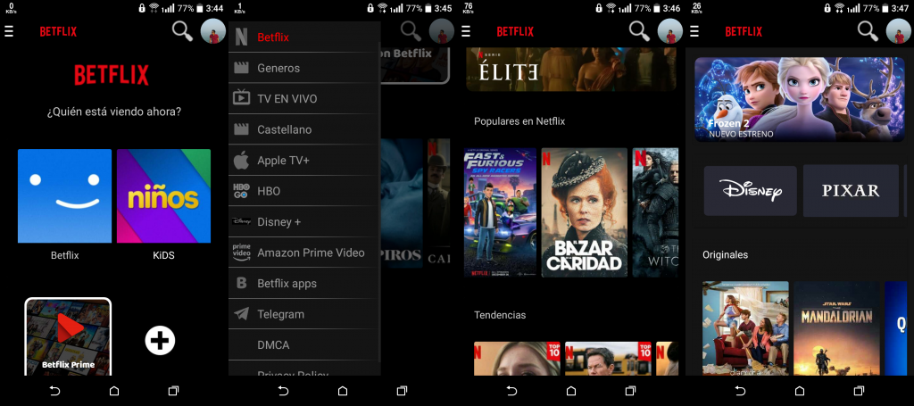 Betflix TV APK Android V 1.0 [latest] 1