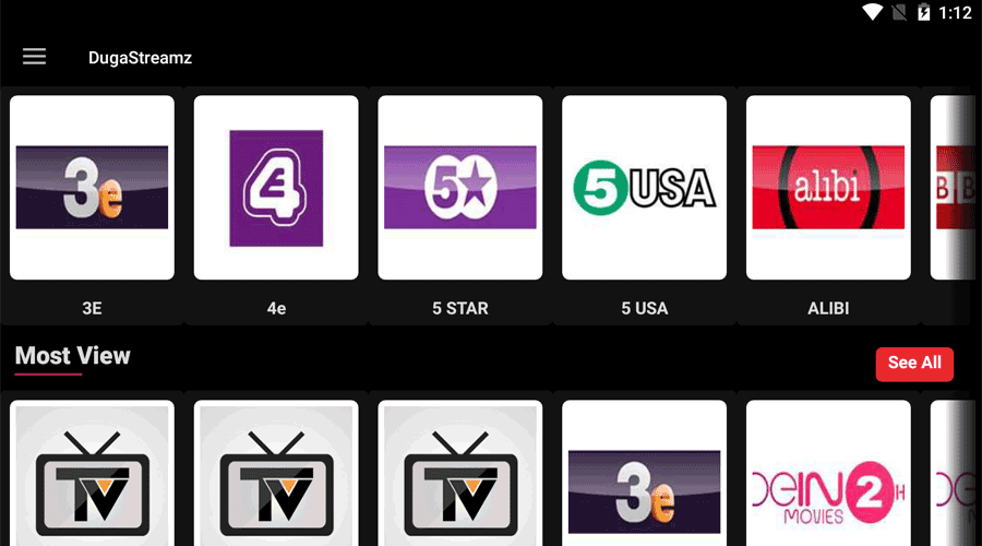 DugaStreamz IPTV APK Latest Version Exclusive 3