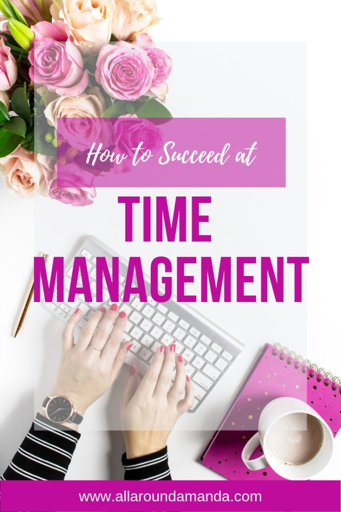 Pinterest pin how to succeed at time management