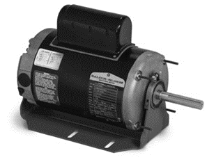 Direct drive fan, single and three phase, TEAO