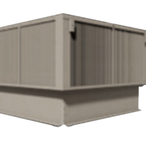 Pennhouse (PHHW) Miami-Dade Approved Roof Mounted Air Intake or Exhaust Housing Units