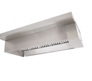 Wall Canopy Hoods - Front Supply Plenum Added