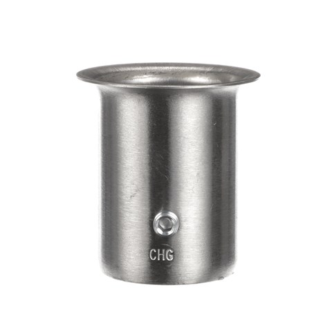 """1-1/2"""" x 2-7/8"""" H Stainless Steel Leg Socket With Flanged Top"""