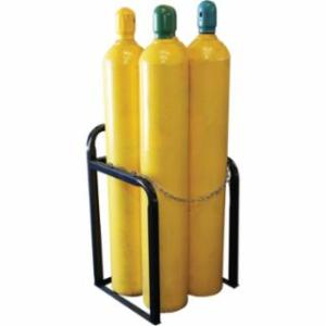 "339-CR-4 Cylinder Racks, 23"" w x 36"" h, Holds 4 Cylinders"