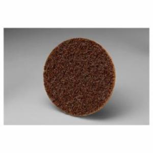 405-048011-13257 Scotch-Brite Roloc Dis, 3 in Dia, Aluminum Oxide, Brown, Coarse