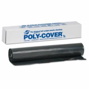 795-4X40-B Poly-Cover Plaic Sheets, 4 Mil, 40 x 100, Black