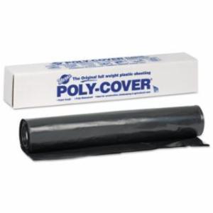 795-6X32-B Poly-Cover Plaic Sheets, 6 Mil, 32 x 100, Black