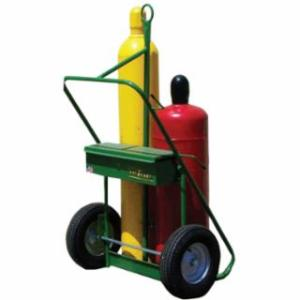 """339-552-16 400 Series rts, Holds 2 Cylinders, 9.5""""-12.5"""" dia., 16"""" Pneum.Wheels, 62"""" H"""