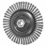 419-82763 COMBITWI® ringer Wheel, 6 in D x 3/16 in W, ainless eel Wire, 48 Knots