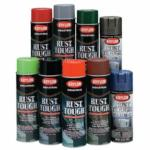 425-K00919007 Ru Tough Aerosol Enamels, 15 oz Aerosol n, Semi-Gloss White, Semi-Gloss