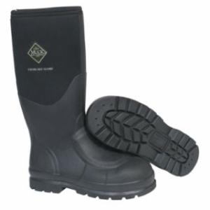 617-CHS-000A-BLK-110 Chore Classic Work Boots with eel Toe, Size 11, 16 in H, Black