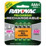 620-LD724-4OP-GEND Platinum Pre-Charged Rechargble Batteries, NiMH, AAA