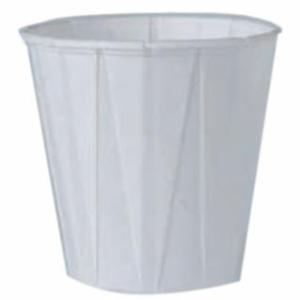 670-450-2050 Plted Paper Water Cups, 3 1/2 oz, White, 5,000 per se