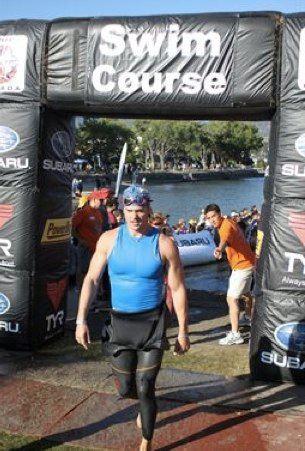 Ironman Canada swim