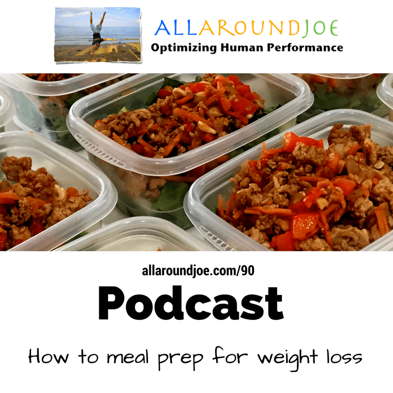 AAJ 090: How to meal prep for weight loss