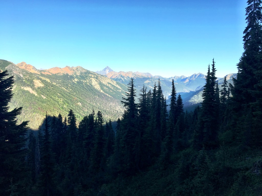 Mountain Views on Stevens Pass to Snoqualmie Pass Adventure