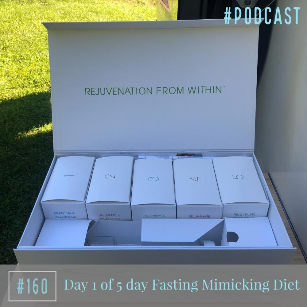 Beginnings… Day 1 of Fasting Mimicking Diet – Ep. 160