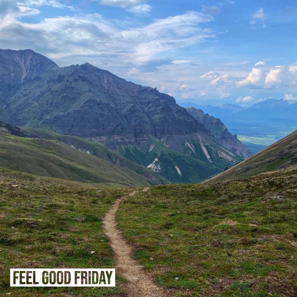 Feel Good Friday – Iron Cowboy – Wrangell St. Elias