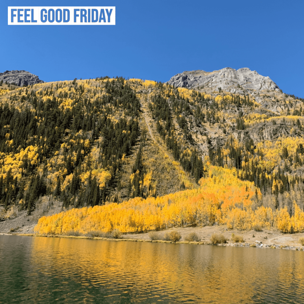 Feel Good Friday - Gunnison Route - Clean & Move by Joe Bauer and Fall leaves