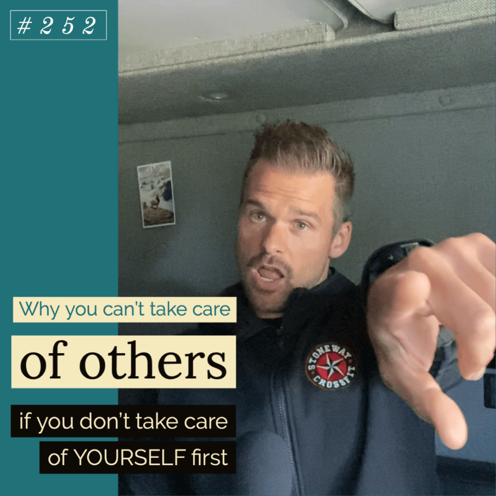 Why you can't take care of others if you don't take care of YOURSELF first