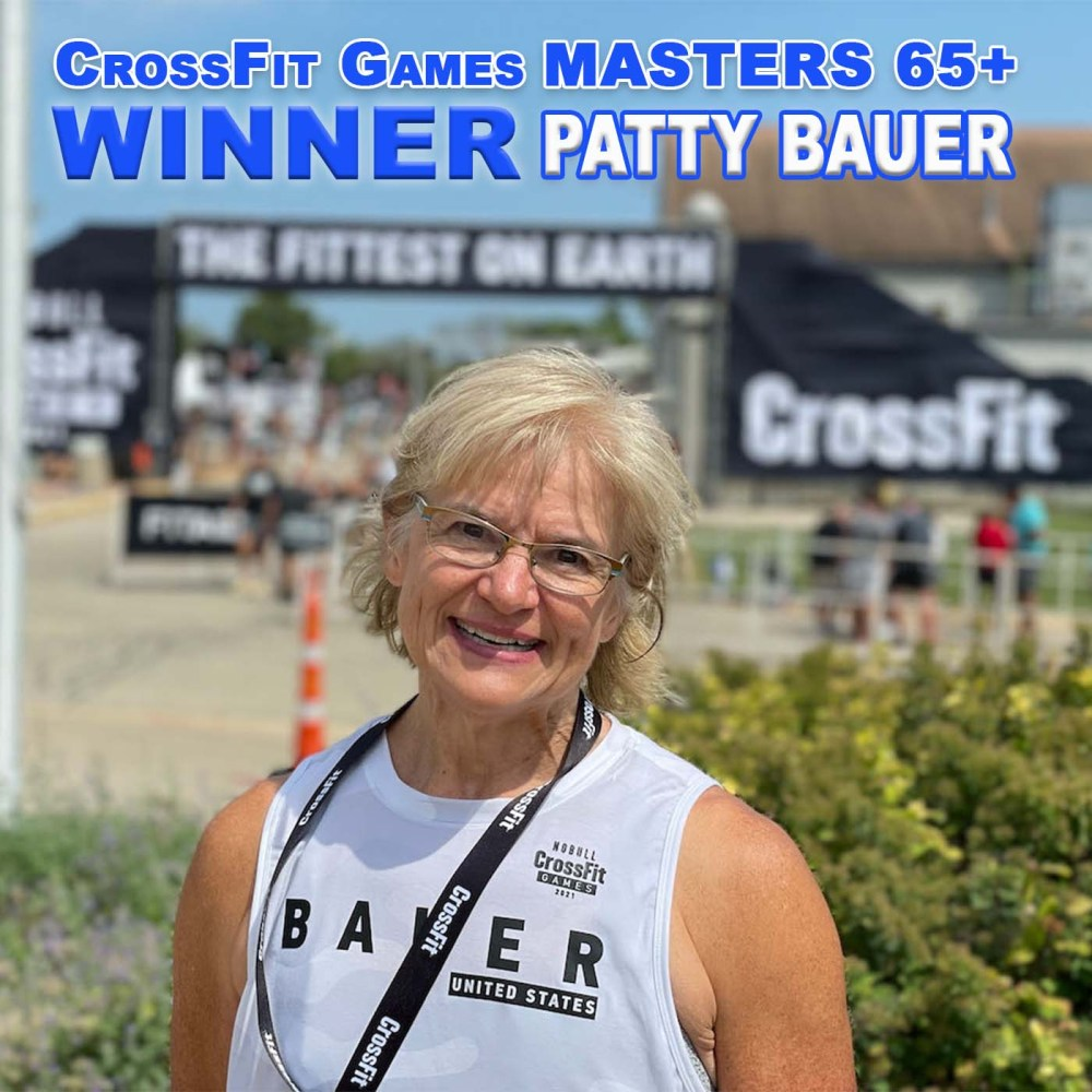 Patty Bauer – CrossFit Games 65+ Fittest Women on Earth