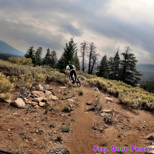 Feel Good Friday - Patty Bauer Interview - McCall ID - Success Partners with Joe Bauer riding mountain bikes