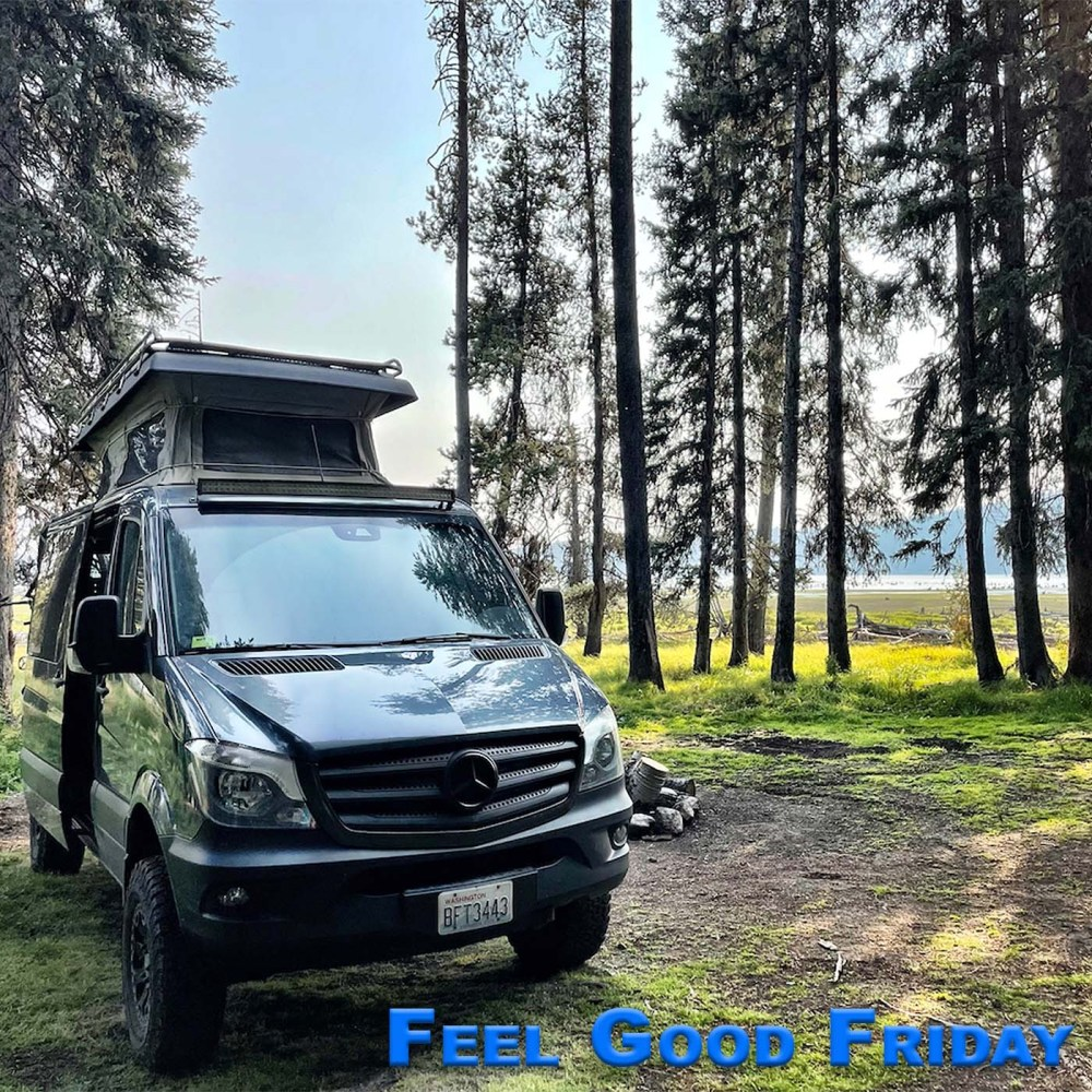 Feel Good Friday - Echo Bike - Time Travel - New Coach with the Sprinter van in McCall Idaho