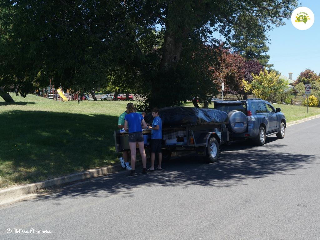 Braidwood Park Road Trip Lunch Spot
