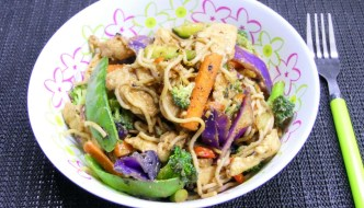 BBQ Chicken Stir Fry