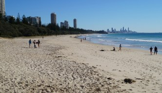 Gold Coast with Visitors