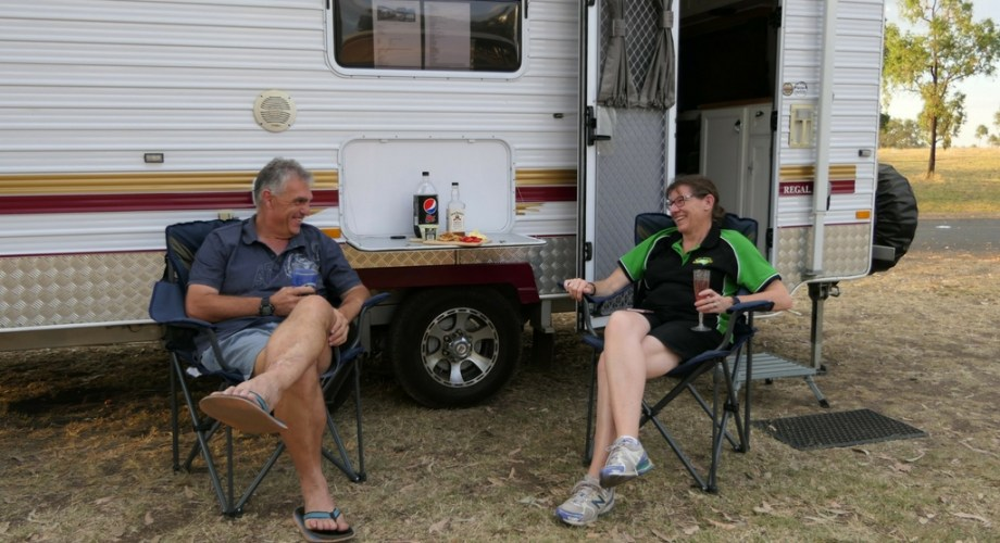 our first weeks of caravanning