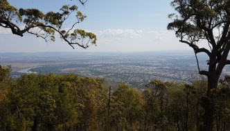 Rockhampton from Mount Archer
