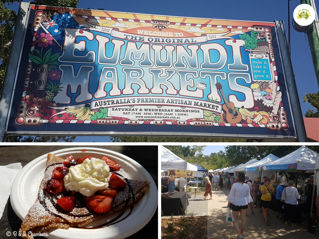 Things to do on the Sunshine Coast - Eumundi Markets