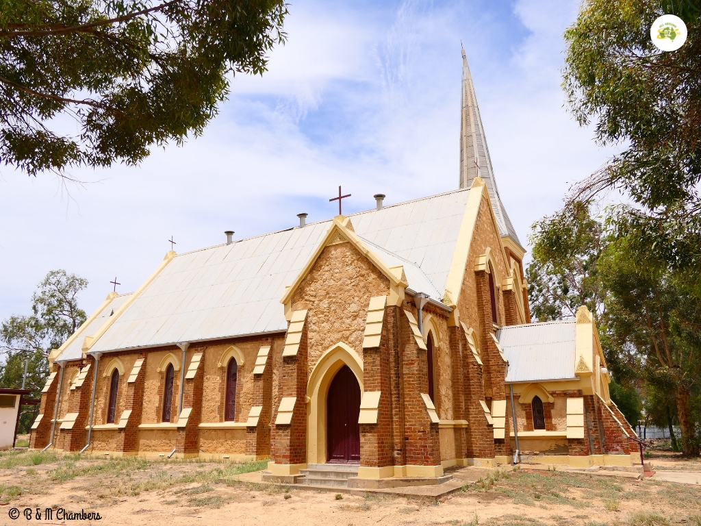 Tiny Towns of the Murray River - St John the Evangelist Church