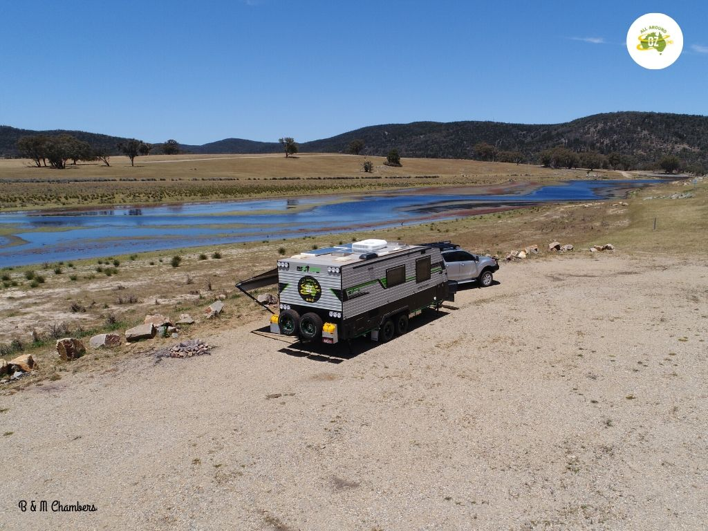 Our second month on the road - Bethungra Dam Reserve