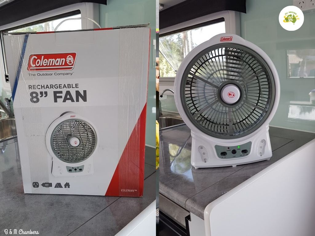 Gifts for Caravanners - Coleman Fan