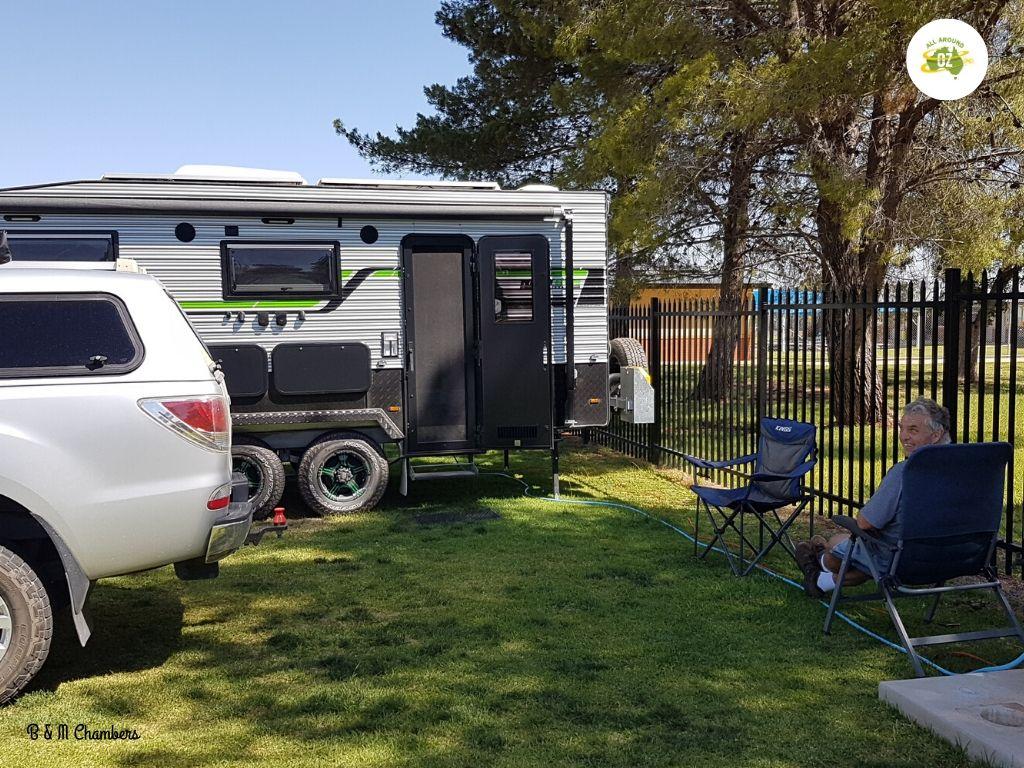 Our Second Month on the Road - Coolamon Caravan Park