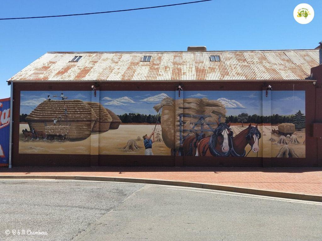 Wall Mural at Ganmain