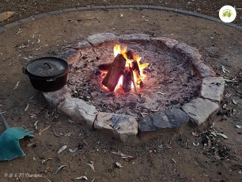 Camp Oven Damper