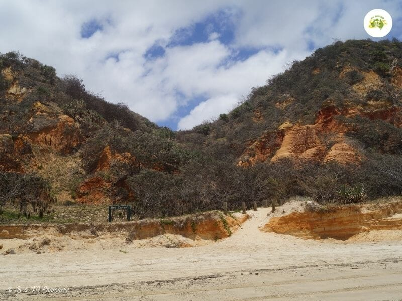 Exploring North East Fraser Island - Red Canyon