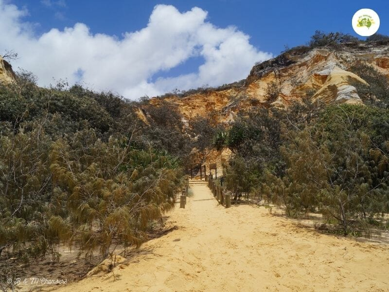 Exploring North East Fraser Island - The Pinnacles