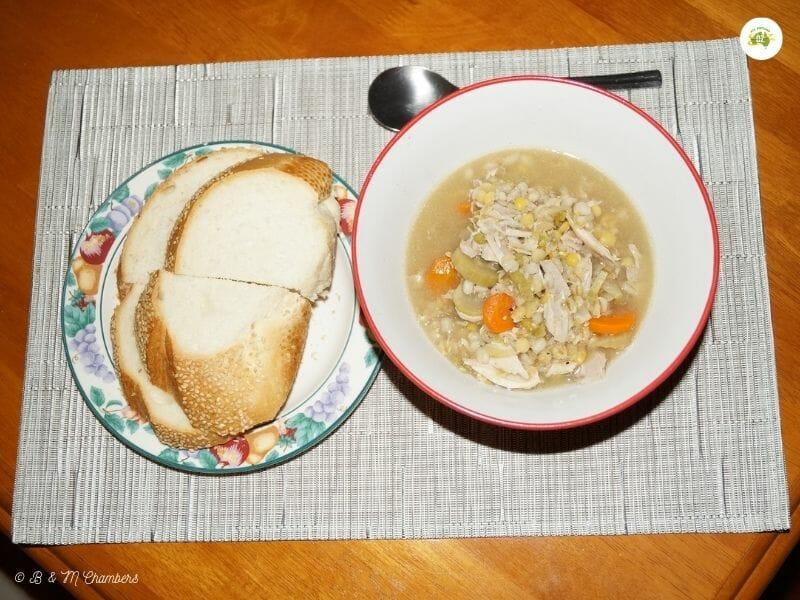 Chicken and Vegie Soup