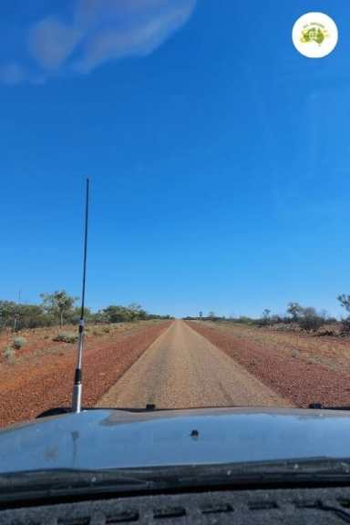 Driving in the Outback