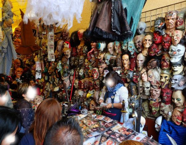 ソノラ市場死者の日