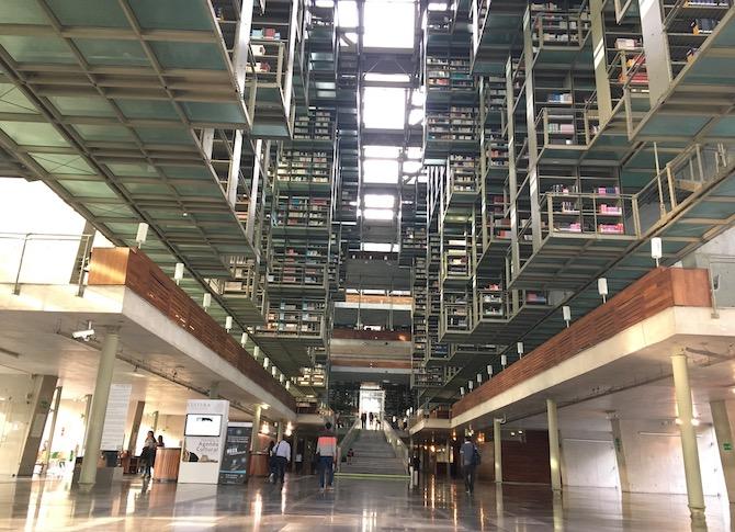 ヴァスコンセロス図書館(空中図書館)メキシコシティ1